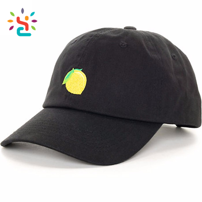 Custom design embroidery dog label baseball cap custom stylish casual anime dad hat for brand factory online shopping