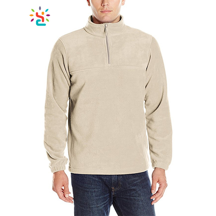 100% Polyester 1/4 Half Zip Pullover Panelled Pullover Hoodie Hoody Jogging Suit