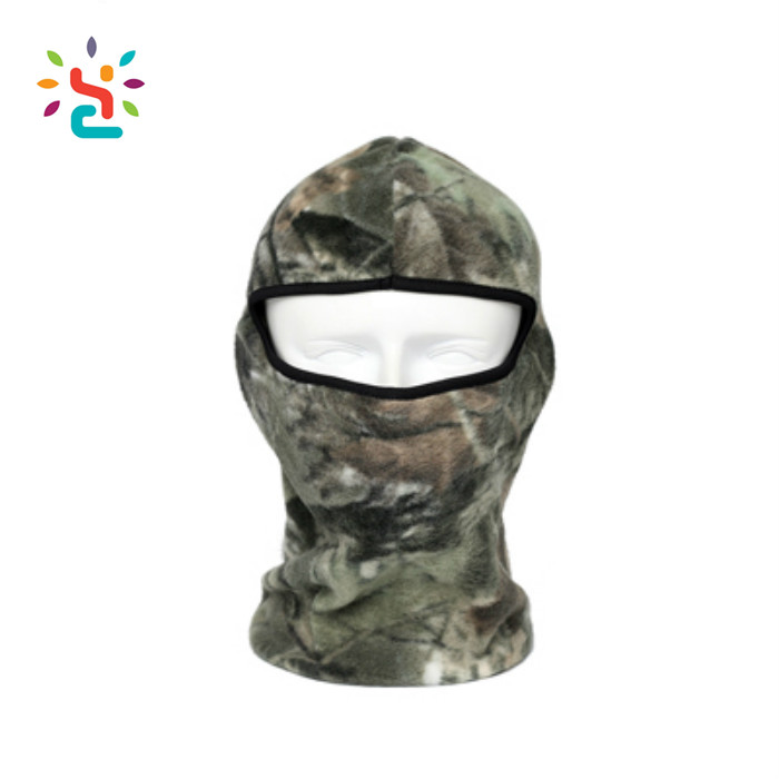 Winter Tactical Camouflage Thermal Fleece Balaclava Neck Masks Hoods Motorcycle Tactical Full Face Mask