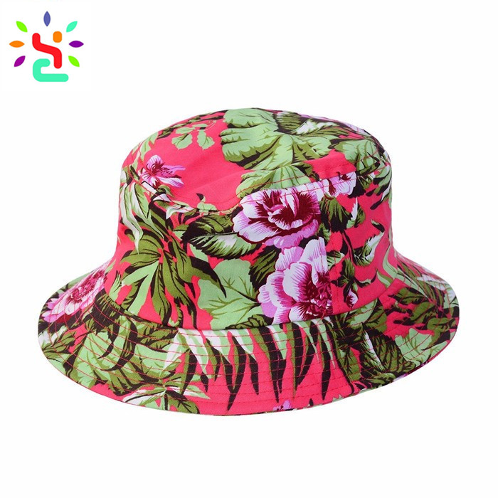 ... Custom printed bucket hats design your own beach hat women sun  protection hats and caps ... 2d66585a84b