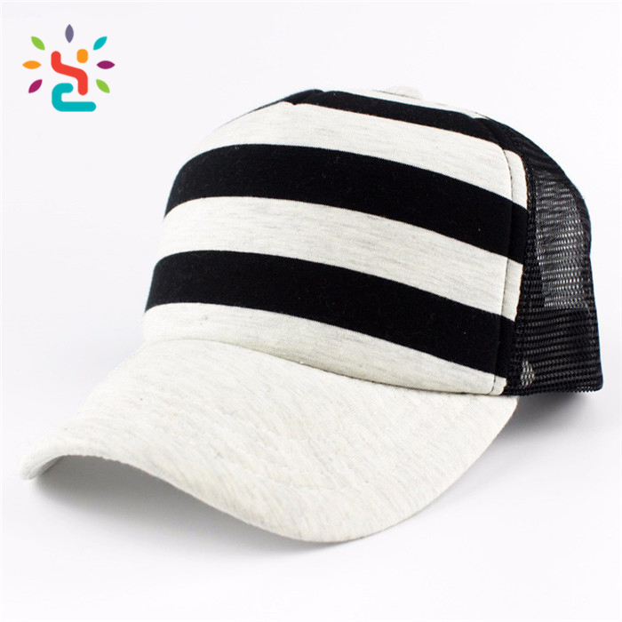 ... Wholesale truck cap 2017 mesh hat for advertising 6 panel baseball caps  colorful striped dad hat ... 74689efd47e8
