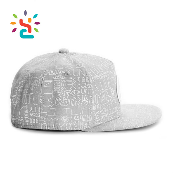Distressed Sublimation Printing 3d Embroidery Peace Snapback Caps And Trucker Hats Unisex