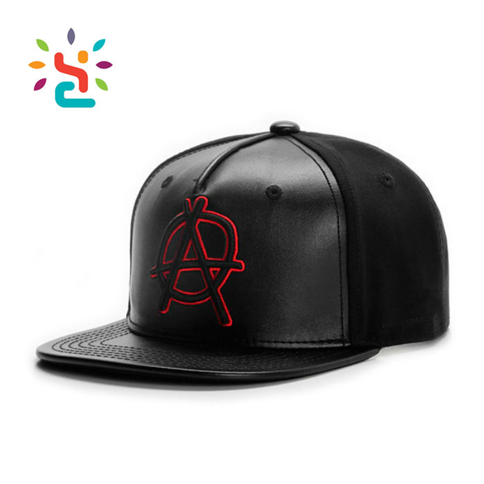 f3f5522b525 ... Manufacturer 5 Panel Leather Flat Brim Kids Baby Infant Customized  Popular Baseball Cap ...