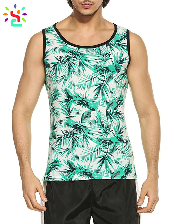 Tank Top Men Gym Custom Printed