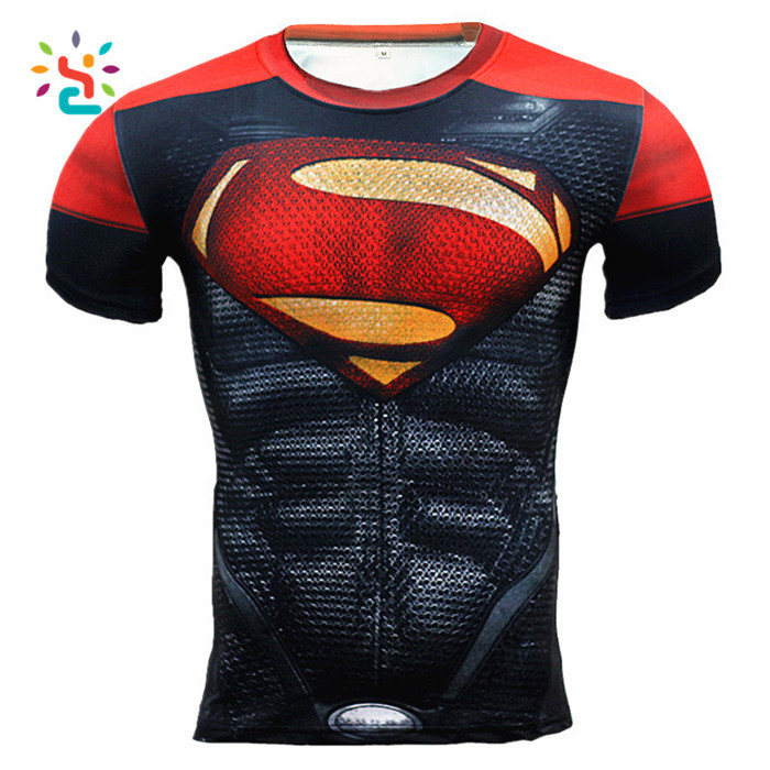 Superman The Avenger Character Printed T Shirts