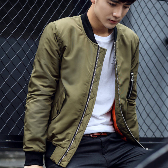 Young man fashion jacket winter warm fleece jackets custom embroidery patch label hoodie mens bomber hoodies
