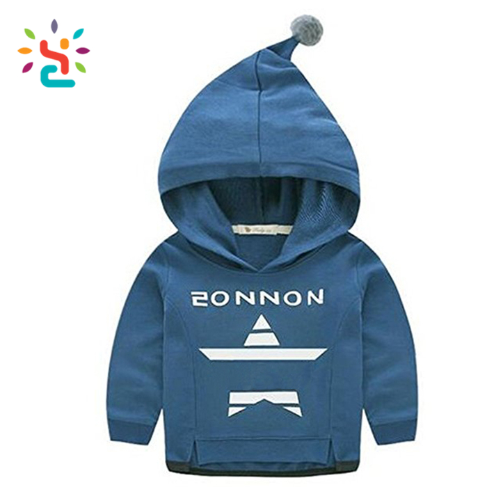 2017 cute animal pattern bear hoodies for kids polyester hoodies kids