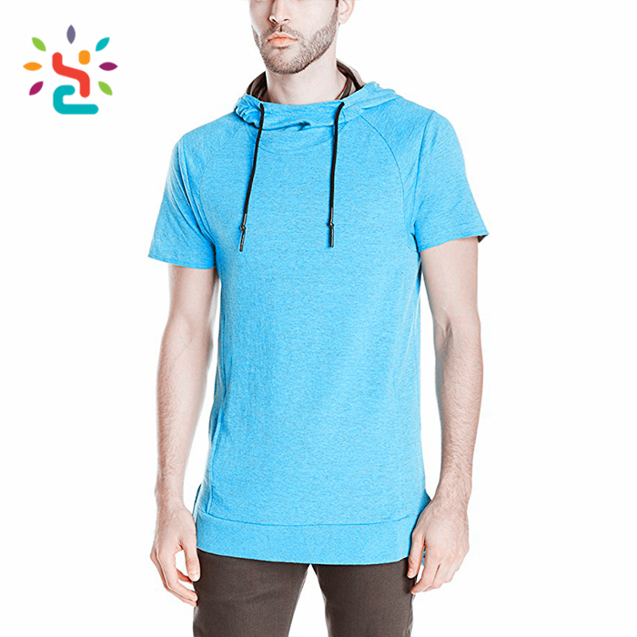 Mens plain thin hoodie oversize mens long clothing hoodies wholesale plane polyester hoody