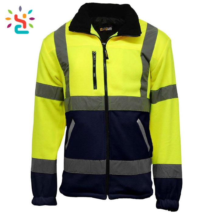 High Visibility New Design Cheap Customized Flashing 3m reflective safety jacket