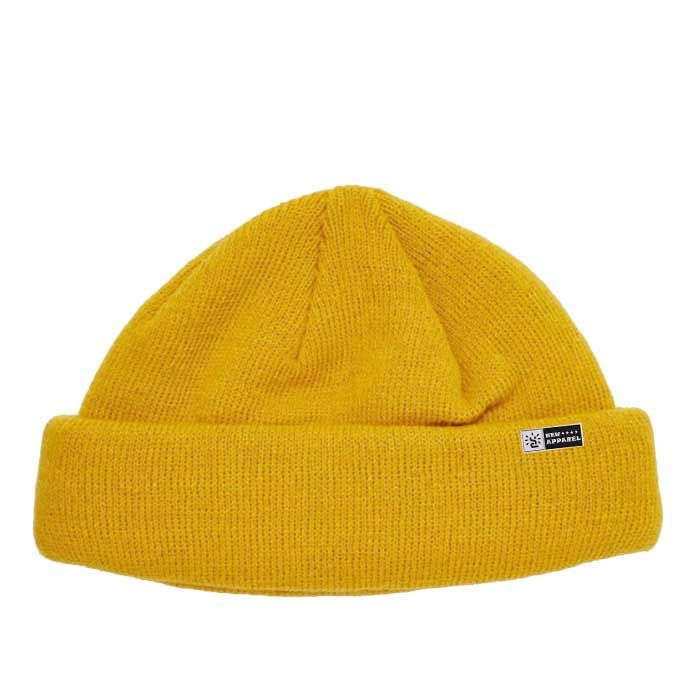 The Gorras Beanie Blank Yellow Custom Fishermen Knitted Beanie Hat Private Label