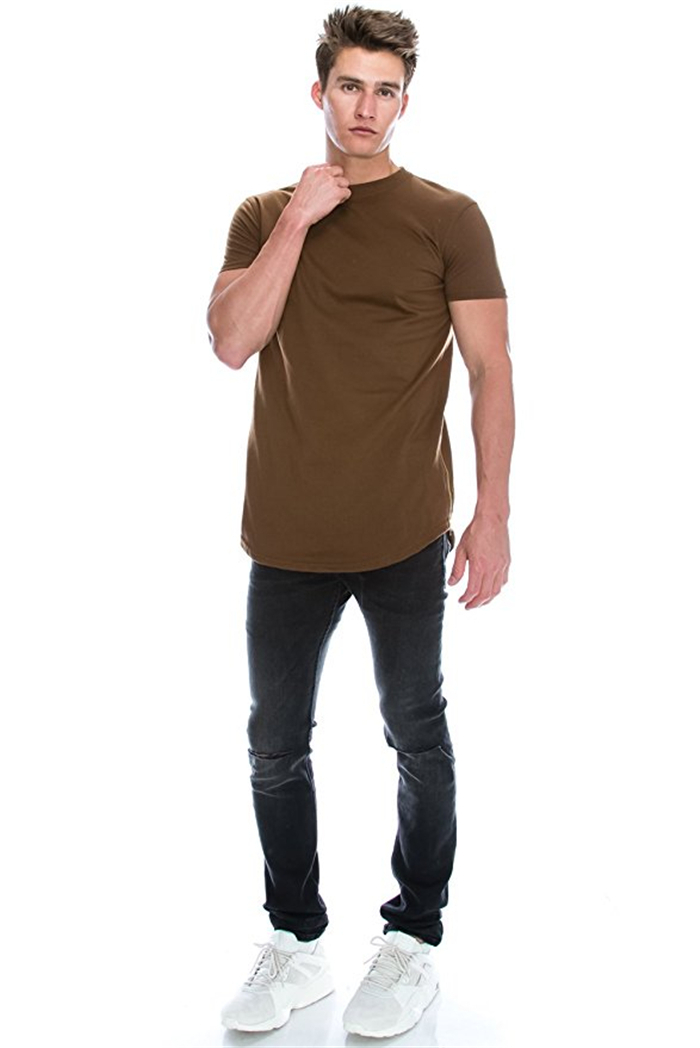 wholesale side zipper tees,round neck custom t-shirt,oversized t-shirt men ,fresh yoga,new apparel