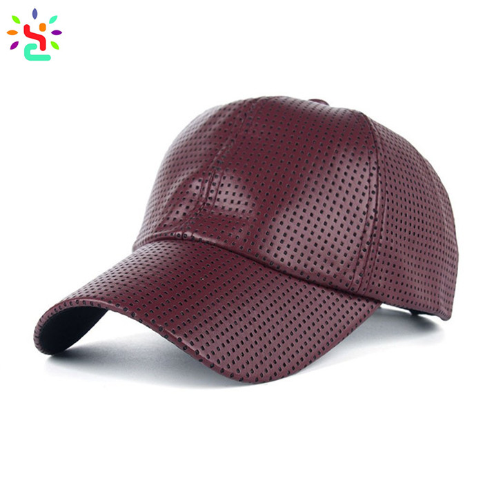 Wholesale leather hat cowhide baseball cap custom 6 panel hats curved brim mens leather top hat,leather hat,leather baseball cap,cowhide leather baseball cap,new apparel