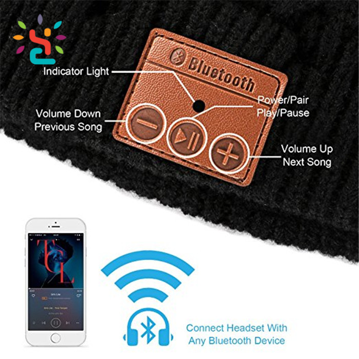 beanie hat with headphone,Knitted Musical Hat,beanie bluetooth,bluetooth beanie hat,bluetooth beanie hat with headphone,beanie hat bluetooth,bluetooth speaker,bluetooth earphone,headphone,fresh yoga,new apparel